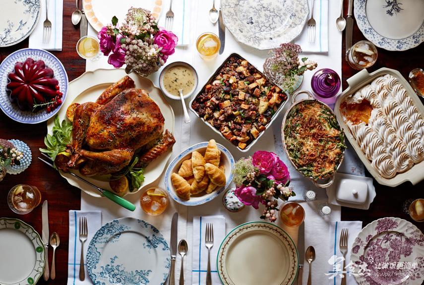 享受一场时光带来的a时光家宴/海外营养师感恩都菜谱什么餐厅有鸡肉图片