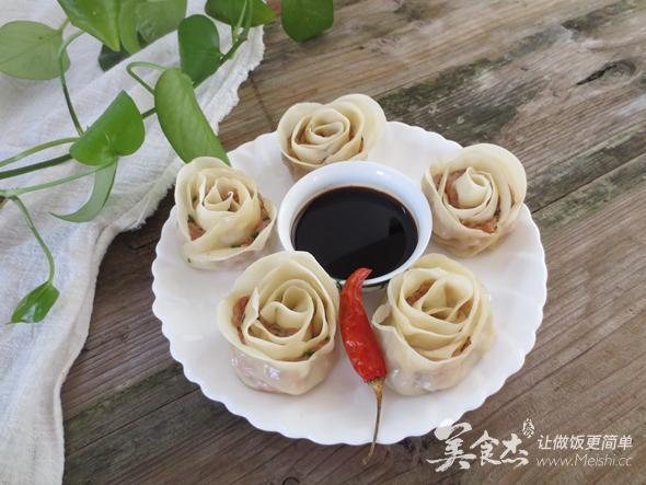0技巧高颜值——玫瑰花饺子