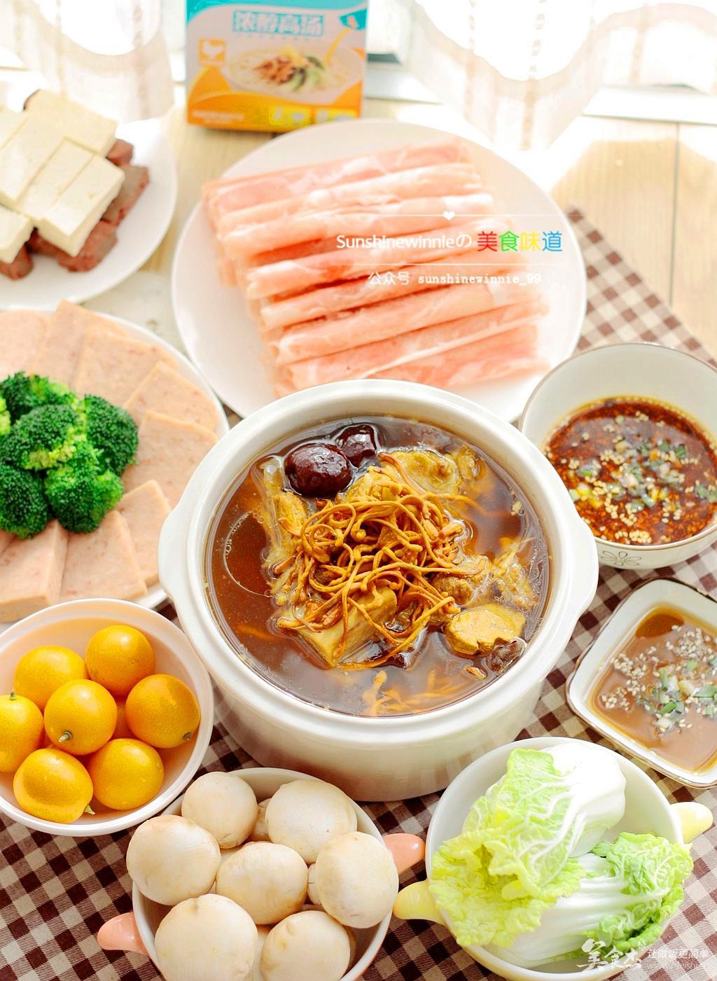 a虫草虫草--菜谱花v虫草糖尿-美食杰-美食,火锅玉米油火锅可以吃吗图片