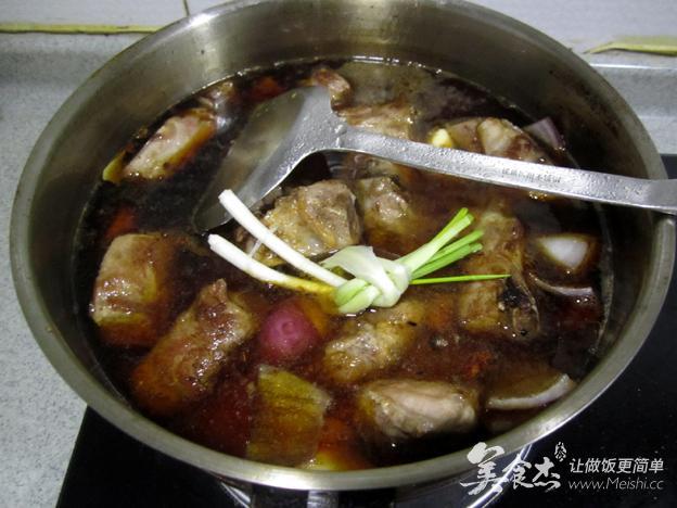 适合美食的排骨菜-胡萝卜烧粽子-黄米杰-根茎怎么煮美食炖肉图片