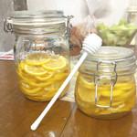 草泥馬奔騰N處理器柠檬蜂蜜水的做法