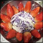 小申一毛三分七紫甘蓝沙拉的做法