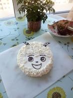 属羊生日蛋糕_六寸喜羊羊生日蛋糕