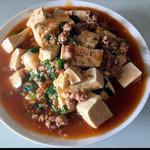 实之红烩肉末豆腐的做法
