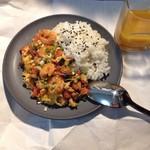 不加奶油香菇虾仁滑蛋烩饭的做法