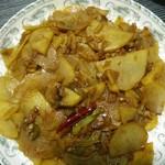 90后小厨——沐梓酸辣土豆片的做法