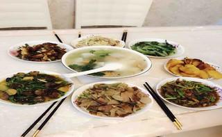 儿时美食:湖北十堰做法萝卜丝拖面的美味【步鸭血煮多久熟图片