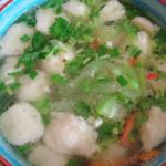 tina528鲮鱼丸丝瓜汤的做法