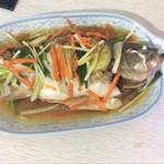 施晓媛油泼鲈鱼的做法