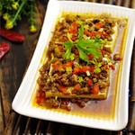 18LS28xgl零落浇汁肉末豆腐的做法