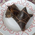 杰米田园广式腊味粽子的做法