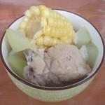 杰米田园萝卜排骨汤的做法