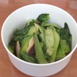 杰米田园香菇青菜的做法