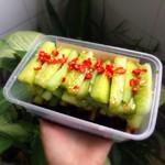 蓝色百合(来自腾讯.....)酸辣黄瓜的做法