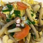 小雨点5091鸡蛋炒双菇的做法