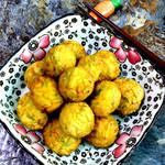 寻找桃花岛#越吃越FIT#外酥里嫩的豆腐猪肉丸子的做法