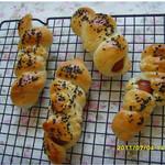 惠子热狗面包的做法