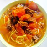 Cara(来自微信.)番茄牛腩面的做法