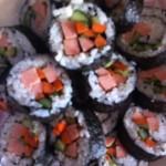 佳峻格格金枪鱼紫菜包饭的做法