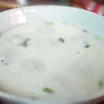 Starfish(来自腾讯....)鱼丸汤的做法