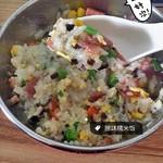 炒菜吃饭亲老公糯米饭的做法