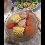 Amy  囡囡(来自腾讯.)玉米排骨汤的做法