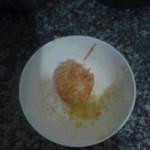 (^:-小呆呆^)(来自微信.)蒸胡萝卜丝的做法