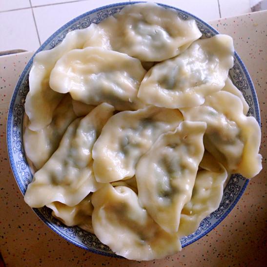 韭菜鲜虾饺子的做法_家常韭菜鲜虾饺子的做法