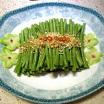 吃货静0323姜汁豇豆的做法