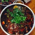 月色(来自腾讯.....)水煮牛肉的做法