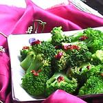 食·色清炒西兰花的做法