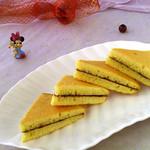 食·色果酱三明治蛋糕的做法
