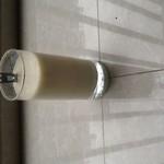 暮雪上的晨星香蕉牛奶的做法