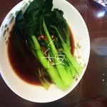 溜溜妈咪的幸福蚝油菜心的做法