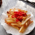 mature11周末小乐趣——烤薯条的做法