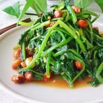 mature11果仁菠菜的做法