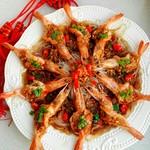 mature11金银蒜粉丝蒸虾的做法