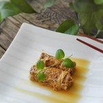 mature11油豆皮蒸肉卷的做法