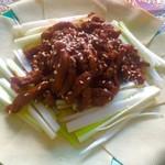 邓伟1455京酱肉丝的做法