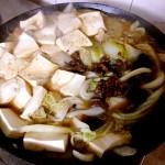 哈!找到了!脂渣炖白菜豆腐的做法