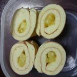 云海天(来自腾讯.)菠萝戚风蛋糕卷的做法