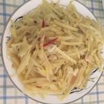 奚慕阳炝土豆丝的做法