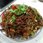 杰米91528315干锅茶树菇的做法