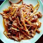 豆豆6999竹笋肉丝的做法
