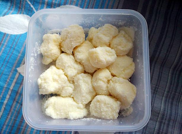 没有玉米淀粉,只有木薯粉