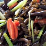 快乐素食小炒黄金海茸条的做法