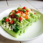 Demi Tung(来自腾讯.)酸辣黄瓜的做法