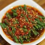 杰米4769956姜汁豇豆的做法