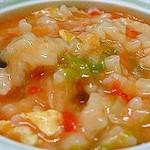 杰米4769956西红柿鸡蛋疙瘩汤的做法
