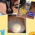 刘小蕾蕾香蕉牛奶的做法